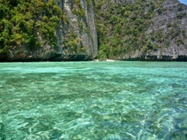 Like emerald glass Phi Phi Islands Thailand