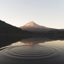 Like to say I achieved this effect first try but it was more like th Mt Hood around sunset