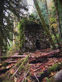 Lime Kiln at the Old Robe townsite - Granite Falls Wa