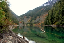 Lindeman Lake might be the most beautiful view in the Greater Vancouver Area