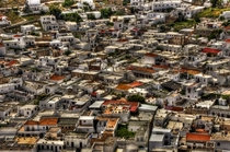 Lindos Greece from on high