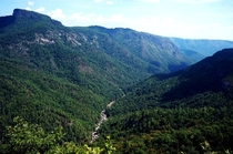 Linville Gorge NC USA