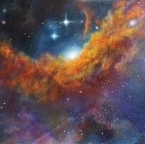 Lisa Prices Finger-Painted Nebulae What do you think