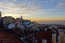 Lisbon Portugal Sunrise