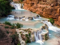Little Beaver Falls Havasu Canyon Arizona  Backpacked  miles on this trip -  x