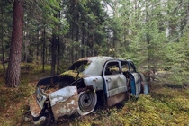 Live fast live hard Abandoned car at Germany By Andy Schwetz