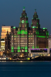 Liver Buildings Liverpool lensliverpool on twitter