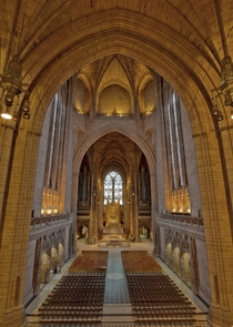 Liverpool Anglican Cathedral England