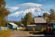 Living near a volcano Kamchatka Russia  photo by Vadim Nikiforov