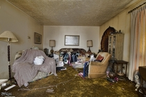 Living Room Inside the Most Shocking Abandoned Time Capsule House I Ever Explored