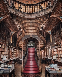Livraria Lello Library in Portugal Apparently one of the J K Rowlings inspirations