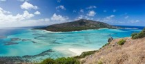 Lizard Island Australia panorama My field research site