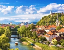 Ljubljana Slovenia is less a capital and more like straight from a Disney Movie