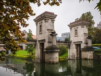 Ljubljanica Sluice Gate Designed by Joe Plenik
