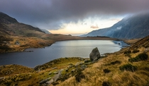 Llyn Idwal North Wales UK
