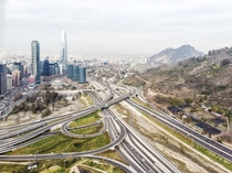 Lo Saldes Interchange in Santiago My picture