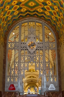 Lobby of the Guardian Building Detroit USA