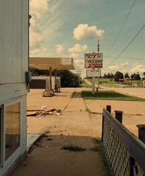 Local grocery store and gas station in my home town closed down after the Caseys seen in background was built