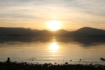Loch Lomond at sunset