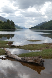 Loch Shiel Scotland En route to Mallaig