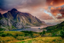Lofoten Norway  photo by Cinematic Photography