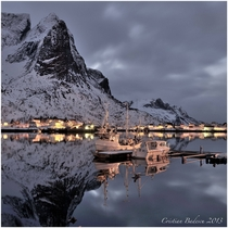 Lofoten Norway reflections