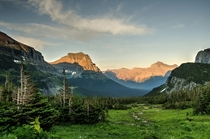Logan Pass East Glacier NP MT USA