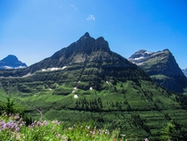 Logan Pass Glacier National Park Montana USA OC x