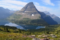 Logans Pass Glacier National Park MT