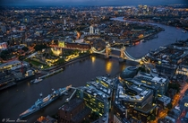 London from above  by Franco Beccari