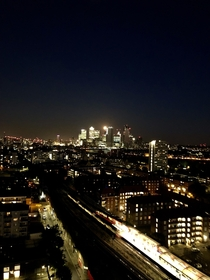 London from my balcony