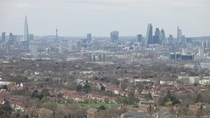 London from Severndroog Castle x