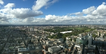 London from the top of the BT Tower