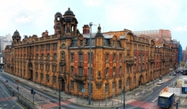 London Road Fire Station Manchester England Designed by George William Parker in