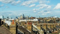 London roof tops - the view from my window
