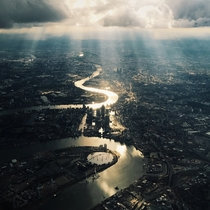 London taken on board a flight from Oslo Norway into London Heathrow on July   Maria Farrelly