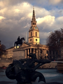London Trafalgar Square I am new to this would like some advice to improve