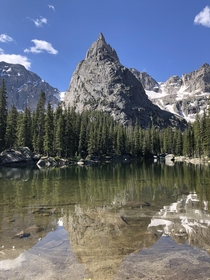 Lone Eagle Peak in Colorado  x