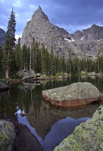 Lone Eagle Peak in the Indian Peaks Wilderness CO
