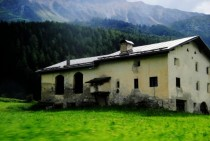 Lonely Farmhouse Off a Highway in Italy