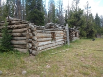 Long abandoned cabins in Utah by the Wyoming border All of my inquiries from people in the area have come up different as to their history Ive heard to them referred to as Old government commissary cabins but I cant find anything official It was really a
