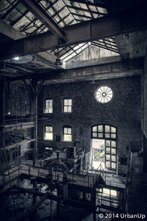 Long abandoned Old Crow Distillery in Kentucky