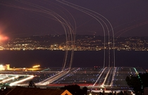 long exposure airport