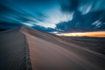 Long Exposure on the Kelso Dunes Ca  jonnyboy_wanderlust