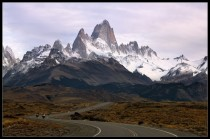 Long Road to Fitz Roy  photo by Victoria Rogotnev