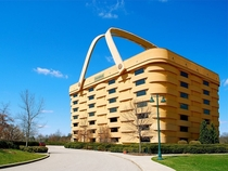 Longaberger Basket Building in Newark Ohio