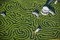 Longleat Maze near Bath UK
