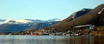 Longyearbyen capital of Svalbard Norway - The worlds northernmost settlement of any kind with greater than  permanent residents