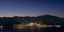 Longyearbyen Norway The northern most town with a population of over  on earth