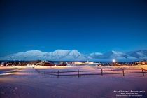 Longyearbyen - the capital of Svalbard